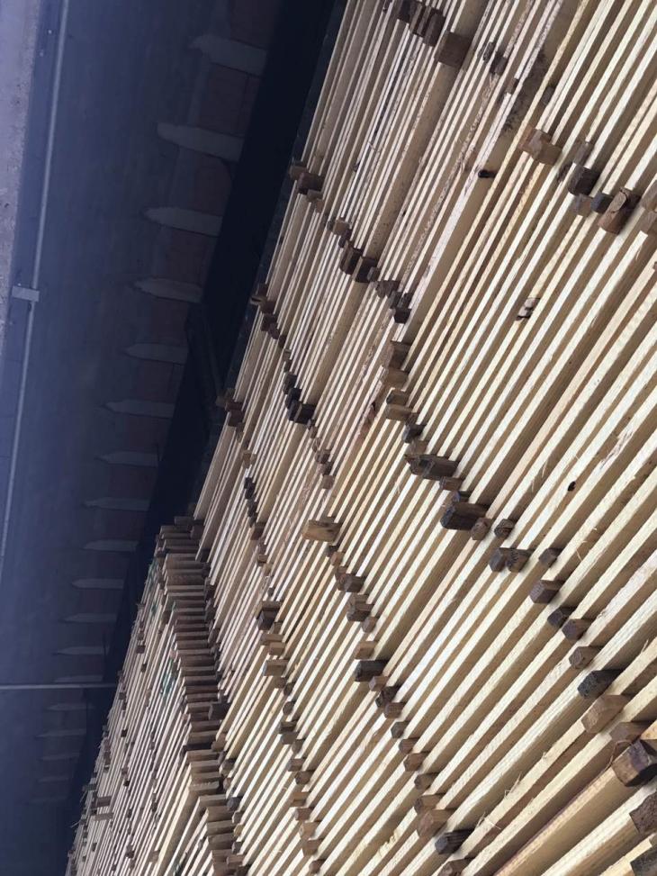 火炬松建筑方木